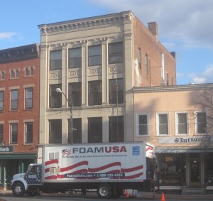 Main St, Northampton, MA. Closed Cell Spray Foam.