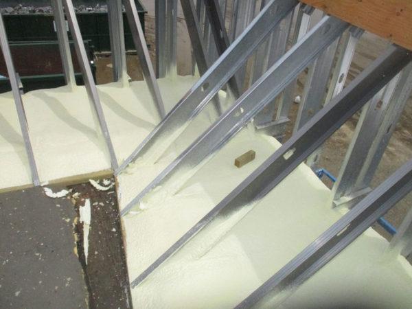spray foam geodome